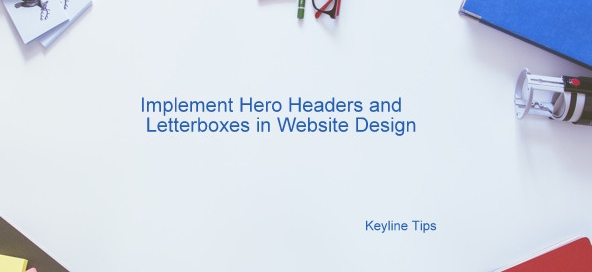 hero Header and Letter Box