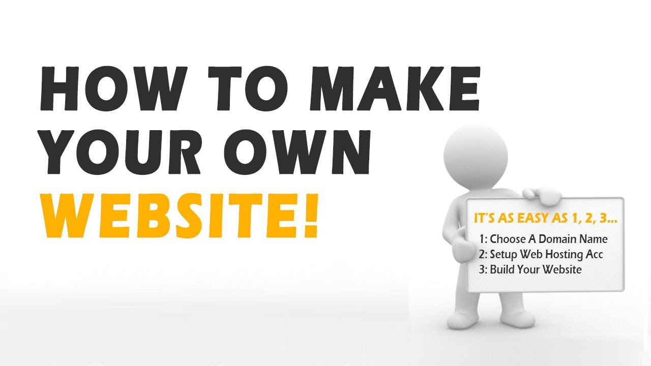 How To Create A Website Of Your Own In 3 Simple Steps