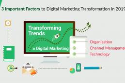 Digital Marketing Transformation in 2019
