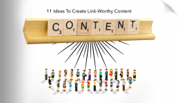 Create Link-Worthy Content