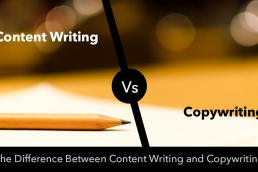 The Difference Between Content Writing and Copywriting