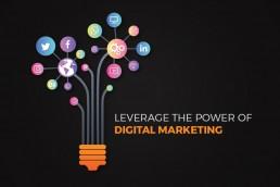Leverage the power of digital marketing